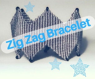DIY Stylish Zig Zag Bracelet Video Tutorial