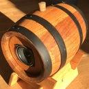 Small Wine Barrel Bluetooth Speaker