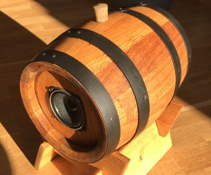 小葡萄酒桶蓝牙音箱