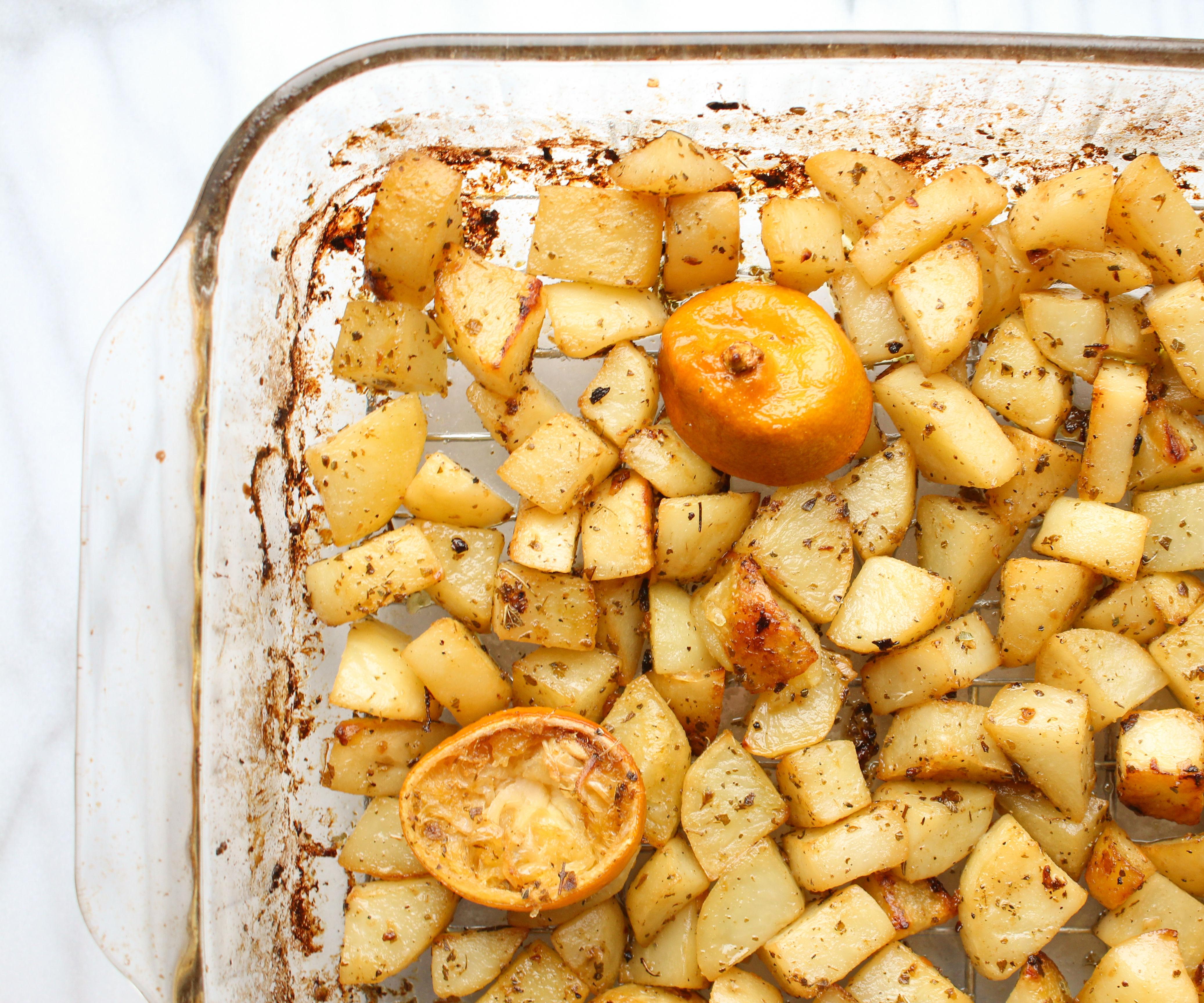 Roasted Greek Lemon Potatoes