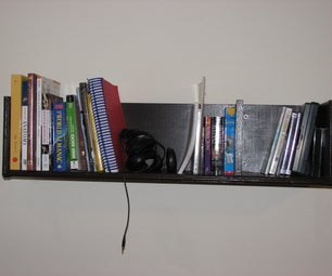 How to Build Wall Mounted Bookshelves for Less Than $100