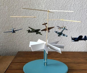 AIRCRAFTS TABLETOP MOBILE DISPLAY
