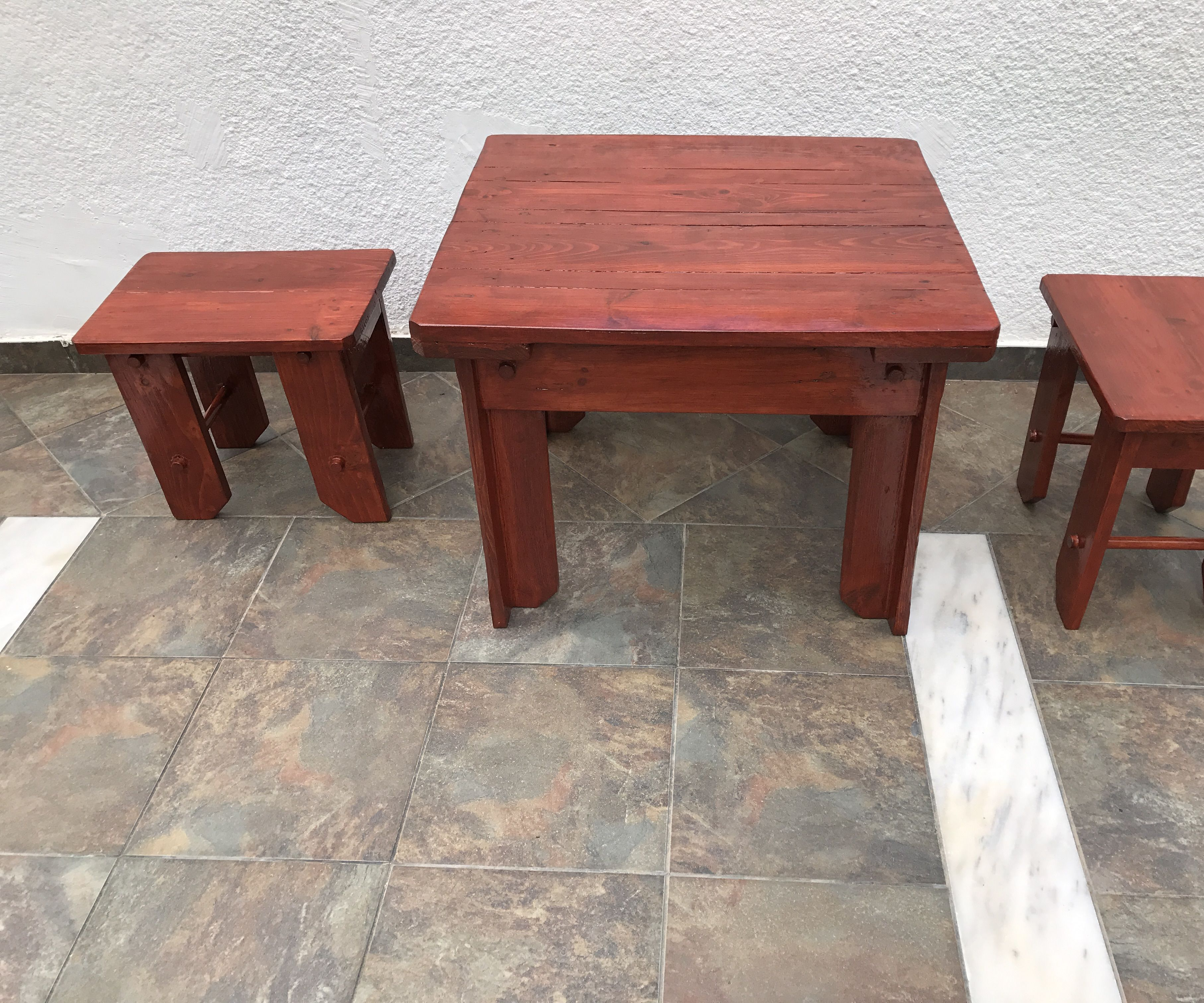 Low Table and Stools