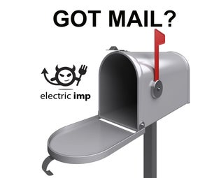 Electric Imp MailBox Notifications