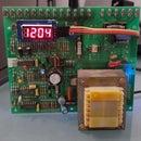 Cyberpunk Autoadjust Desk Clock