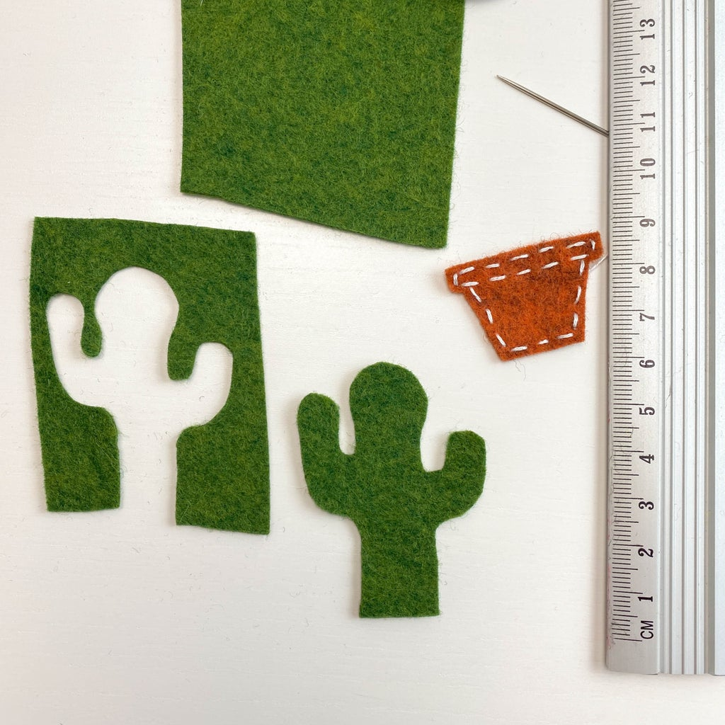 Cut Out Succulents. Different Shades of Green Are Welcome)