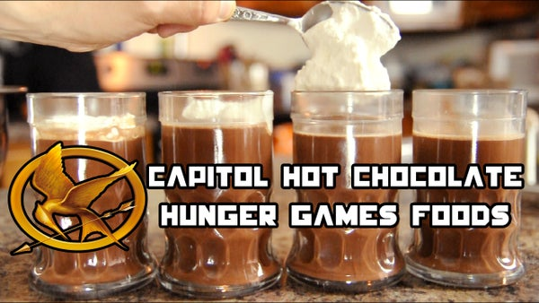 Hunger Games Food: Capitol Hot Chocolate