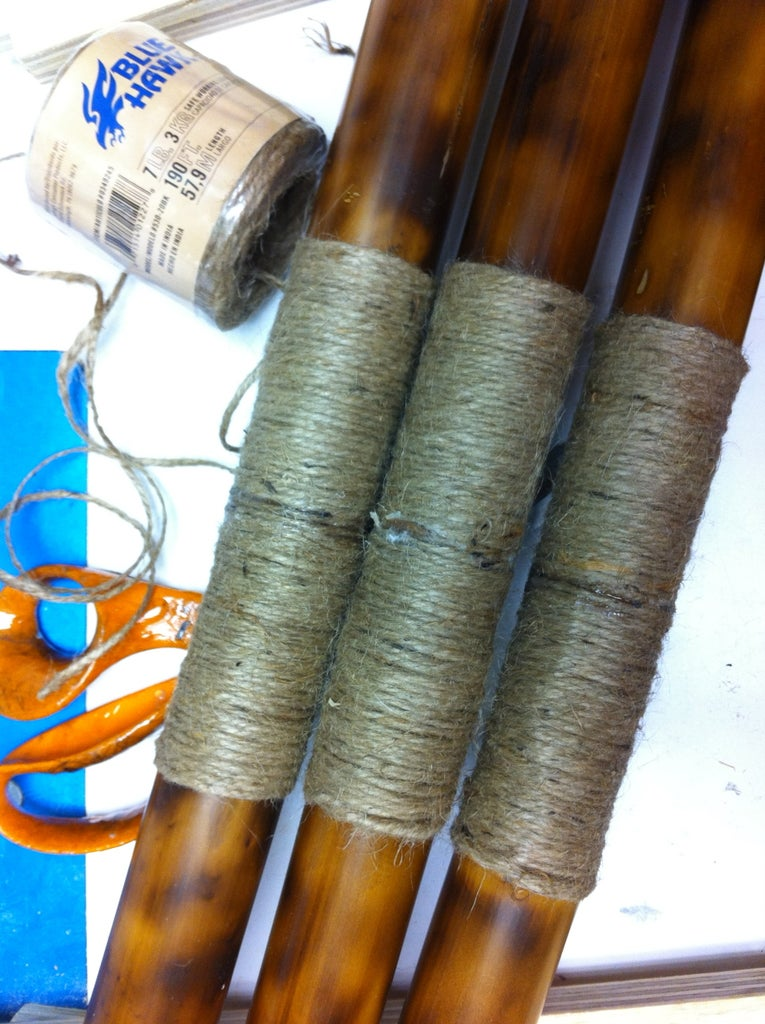 Wrapping the Bamboo Legs