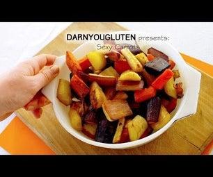 King Glazed Roasted Carrots (GF)