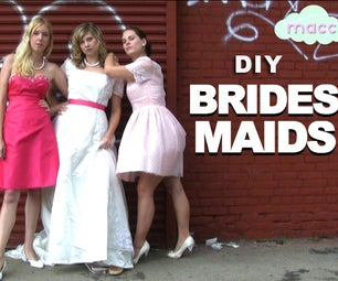 3 Costumes: Bridesmaids, Zombie Bride and Carrie