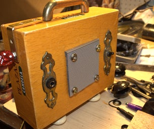 Make Your Own Cigar Box Guitar / Mp3 Player Amplifier
