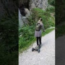 Converting an electric skateboard to electric scooter 534 euro project