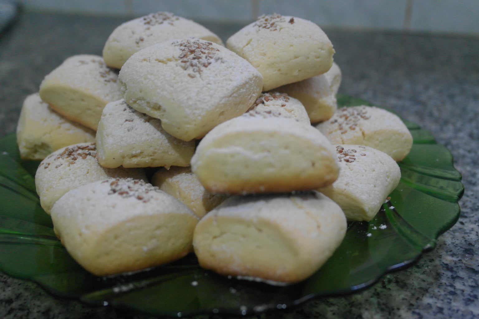 After They Cool Completly Dust With Icing Sugar.