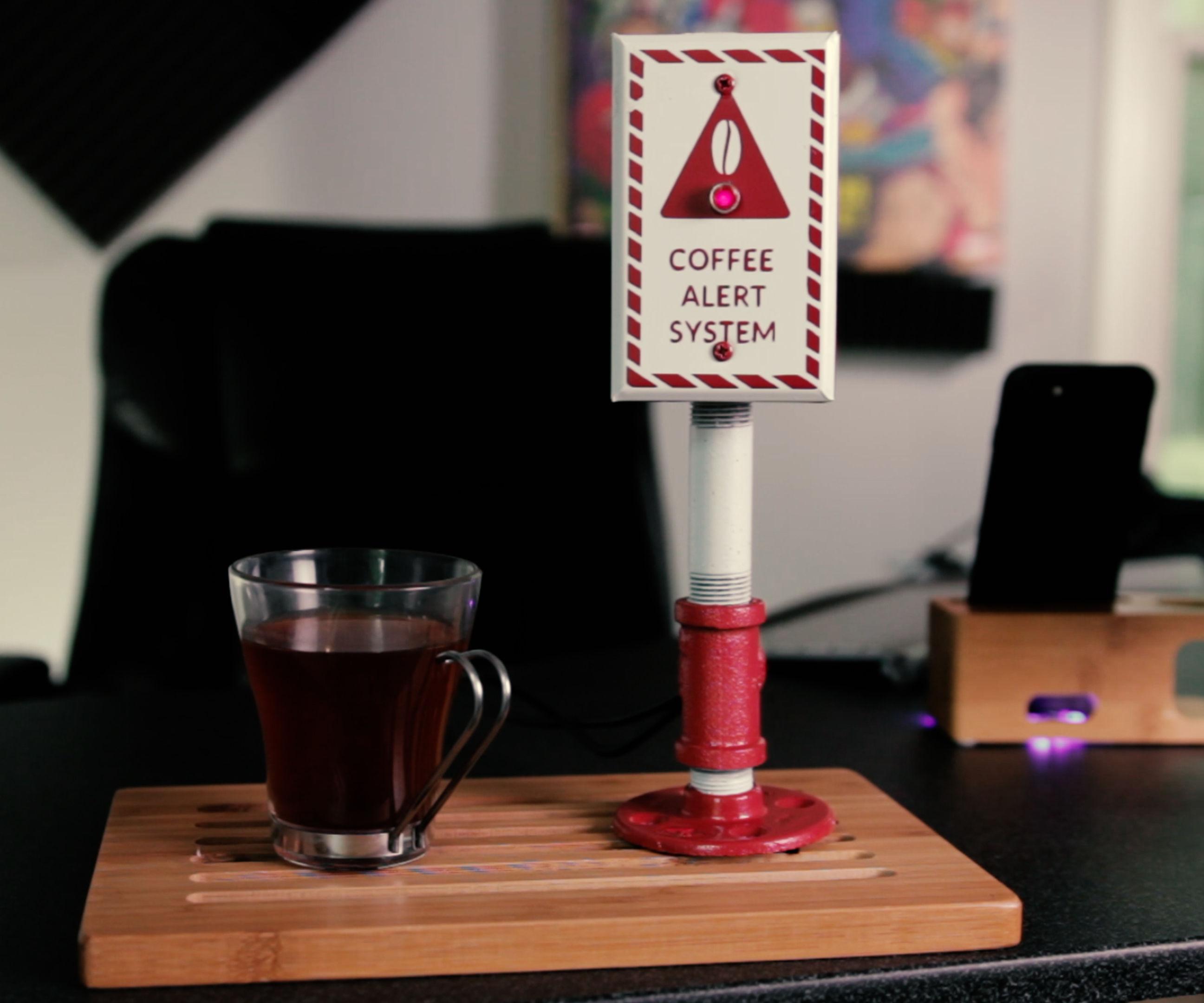 Automatic Coffee Notification System | Raspberry Pi