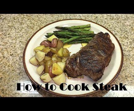 Tutorial: How to Cook Medium Rare Steak