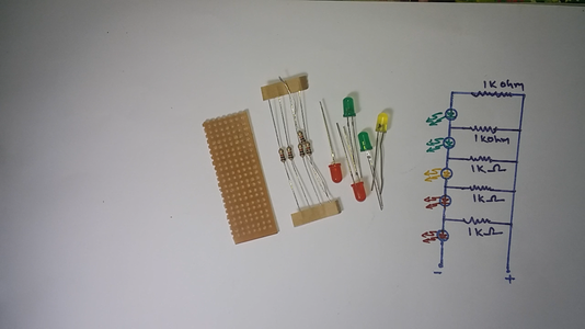 Simple Voltage Level Indicator