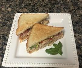 Grilled Chicken Salad Sandwiches
