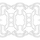 Criando simetricos para marchetaria
