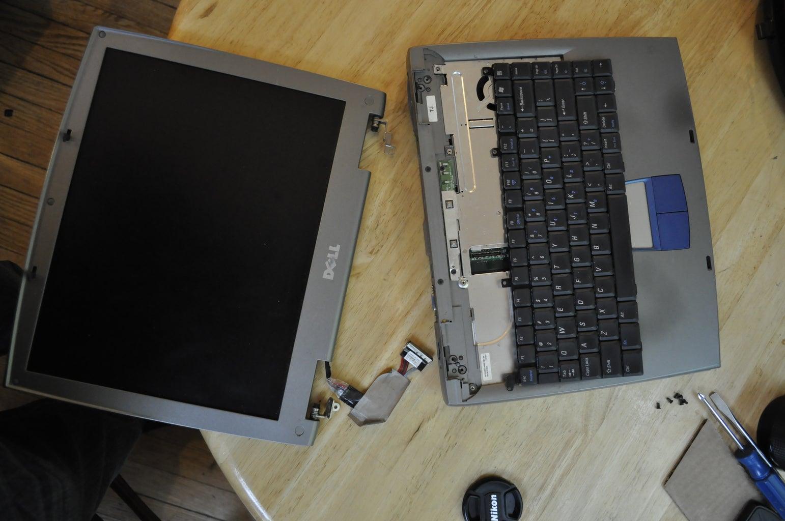 Unhinge Laptop Screen