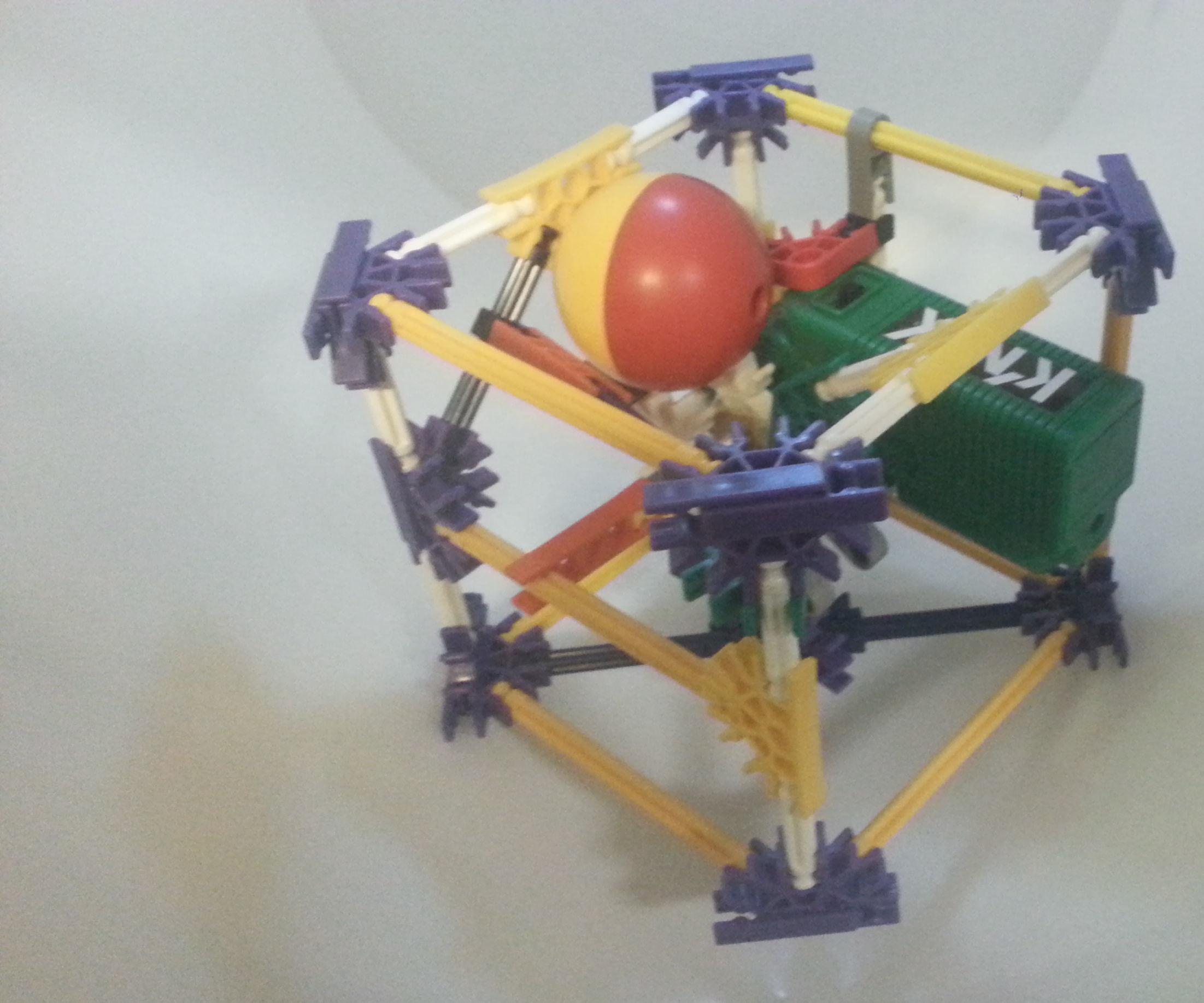 Weird Knex Ball Machine 1: Tiny Box