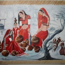 Indian Style Painting