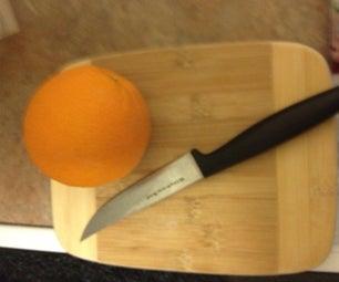Easy Orange Peeling
