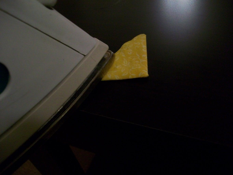 Step 2 - Folding and Ironing