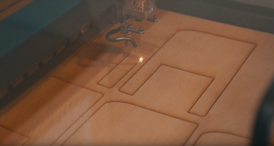 Cutting Out on a Laser Cutter