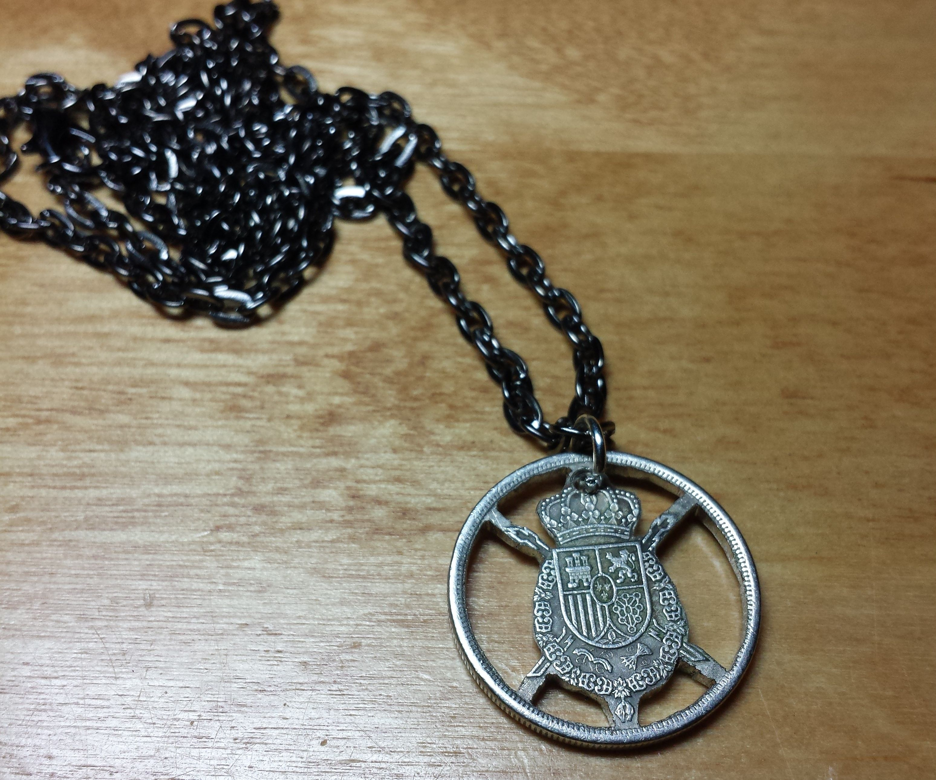 Making a Cutout Coin Necklace