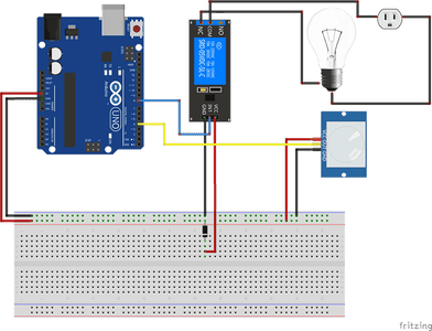 Connecting the Sensor and the Components