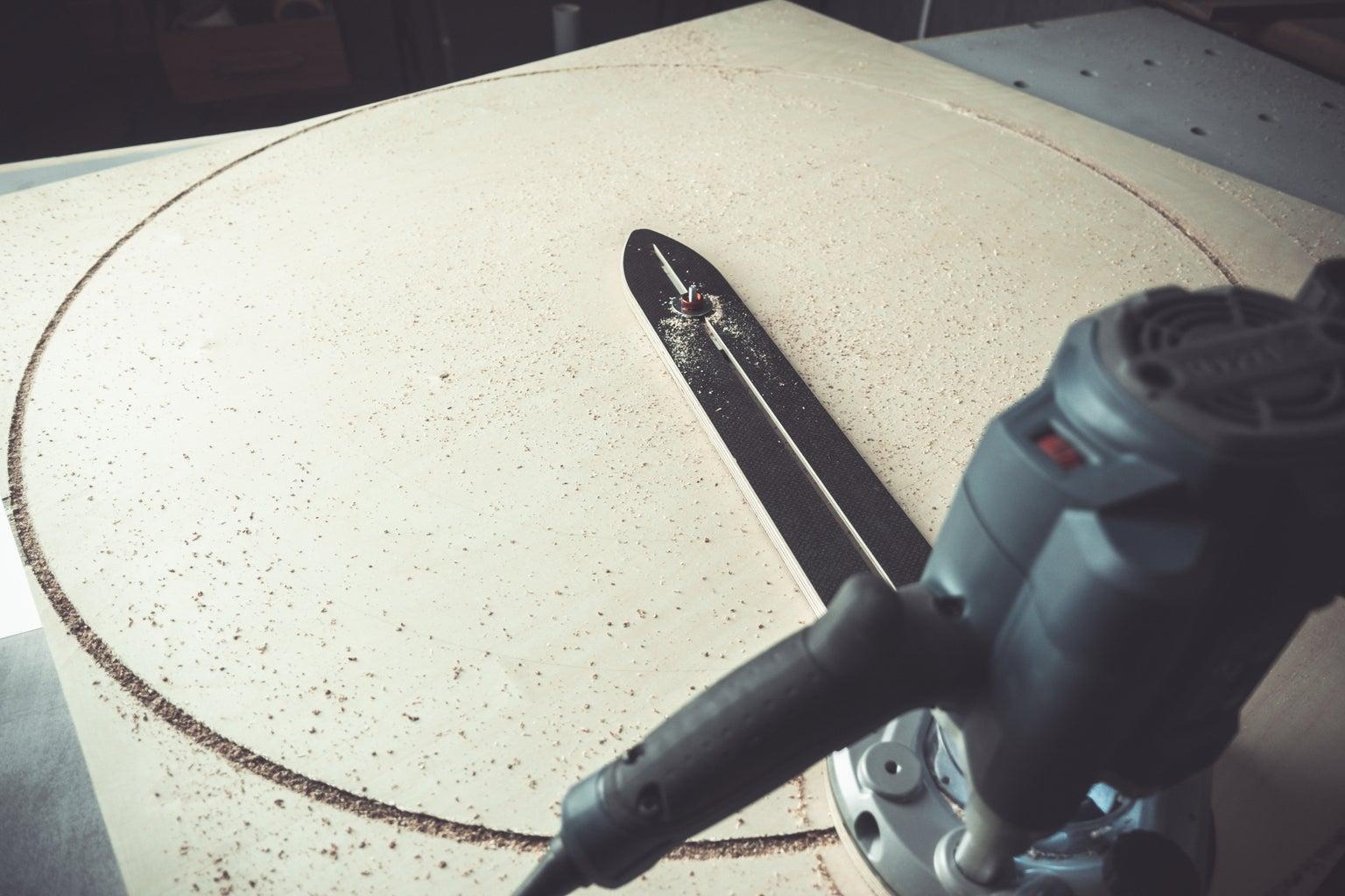 Wooden Thrust Bearing