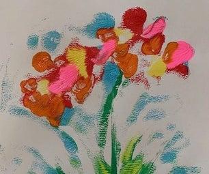 FLOWER MONO PRINTS