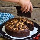 Healthy Chocolate Nut Cake