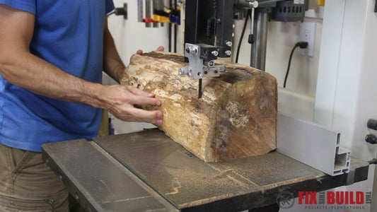 Square the Logs and Dimension to Final Size