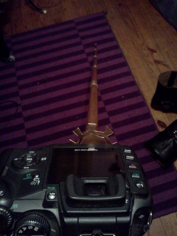 One Hour Steampunk'd Mono-Pod Camera Mount