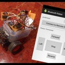 Mobile robot controlled using bluetooth