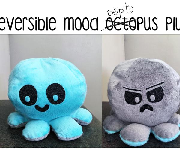 Reversible Mood Septopus Plush