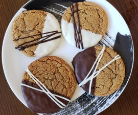 Chocolate Dipped Gingersnaps