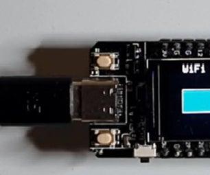 ESP32 TTGO WiFi Signal Strength