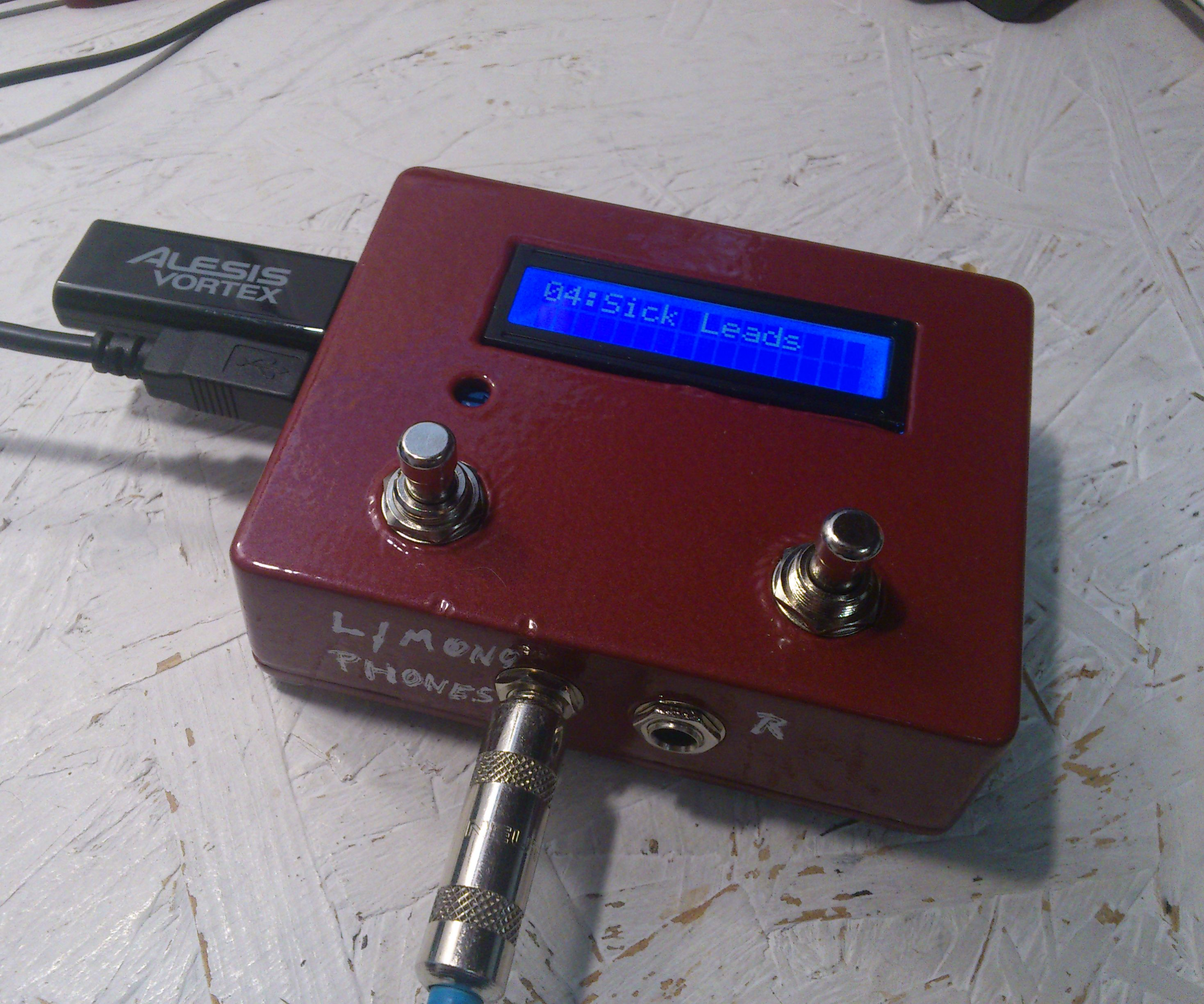 Raspberry Pi Stompbox Synth Module