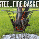 DIY Steel Fire Basket