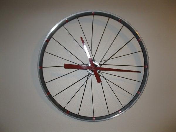 Bicycle Rim Clock.