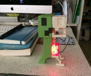 DIY USB Creeper Nightlight