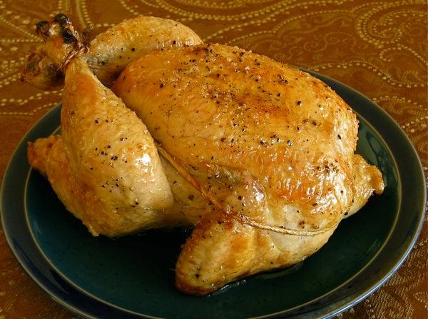 Quick Roast Chicken