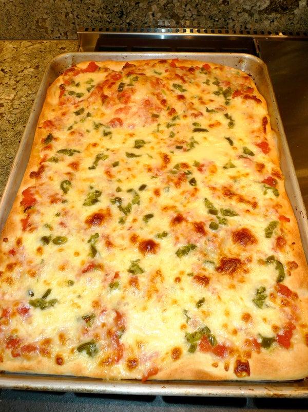 Microwave Pizza Dough & No-Cook Tomato Sauce