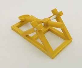 Miniature 3D Printable Catapult Using Tinkercad (move)