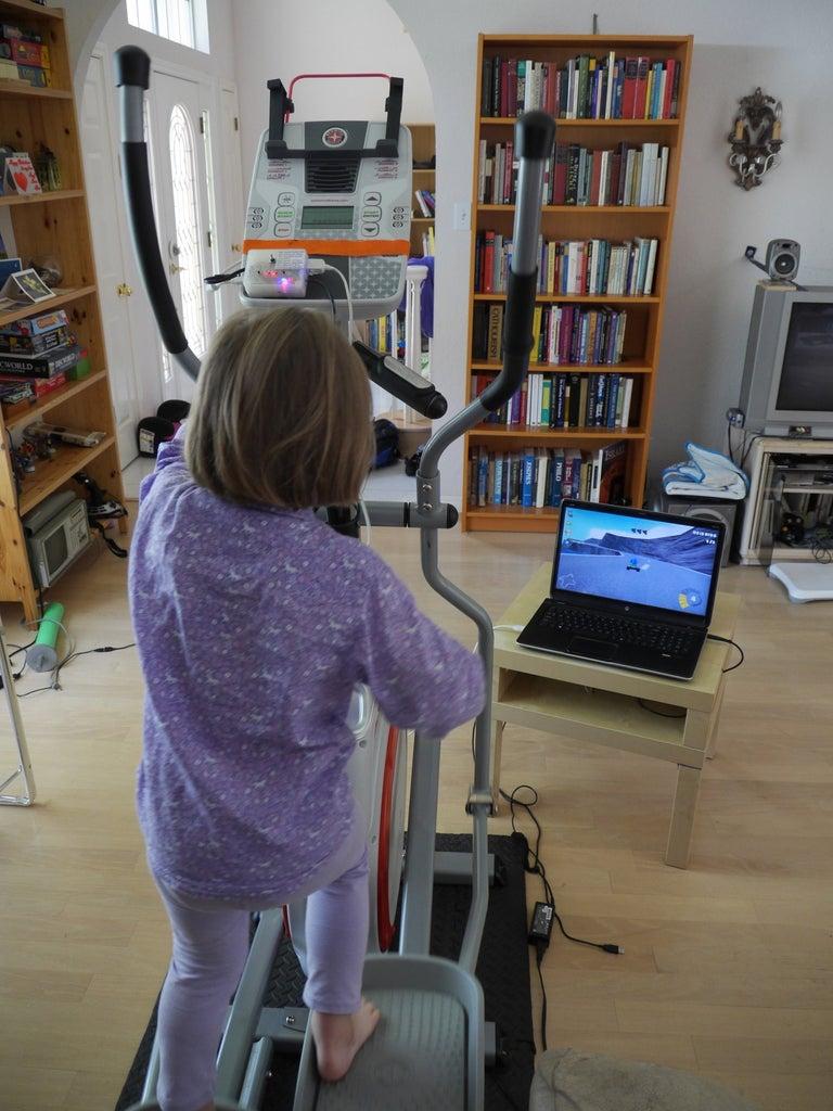 Exercise Machine USB Game Controller