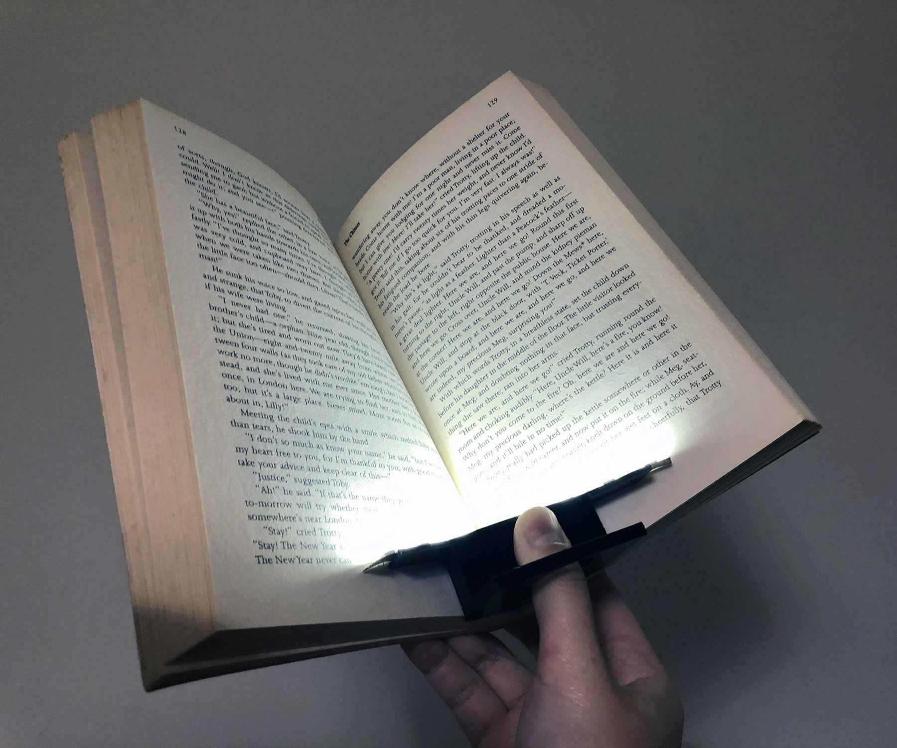 Reading LED Thumb