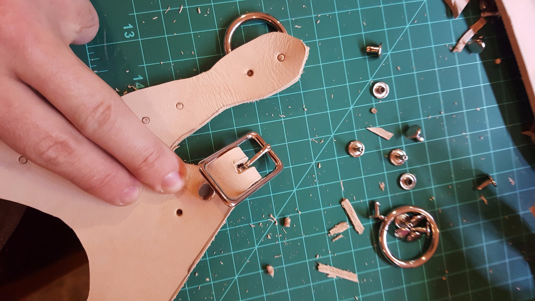 Popping Holes and Dry Fit