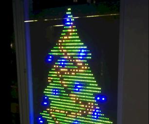 LED Flashing Christmas Tree (No Programming!)